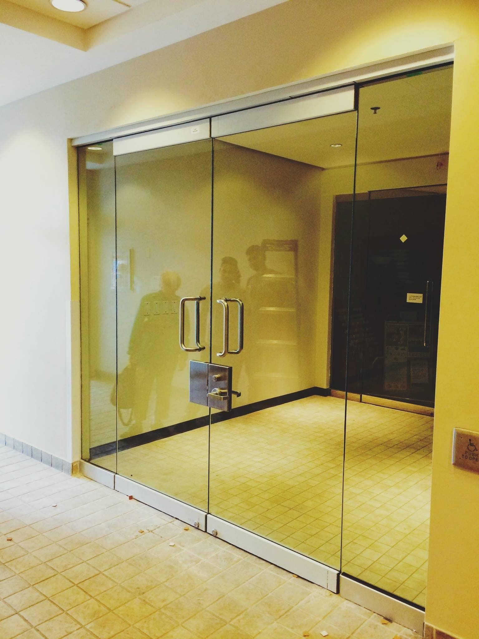 Storefront Glass Walls : Frameless series aluminum doors windows